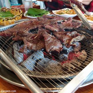 Parrillada coreana