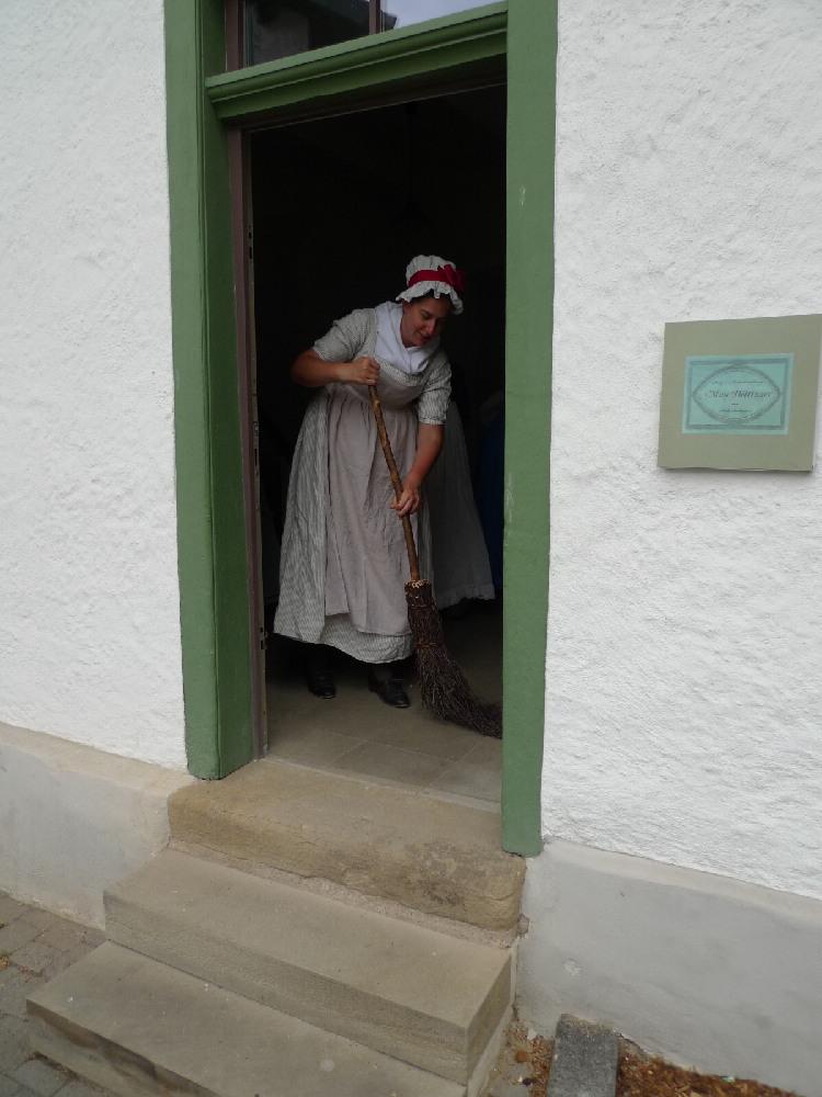 Kleidung um 1800 Putz  Modenhandlung Mme Bettinger