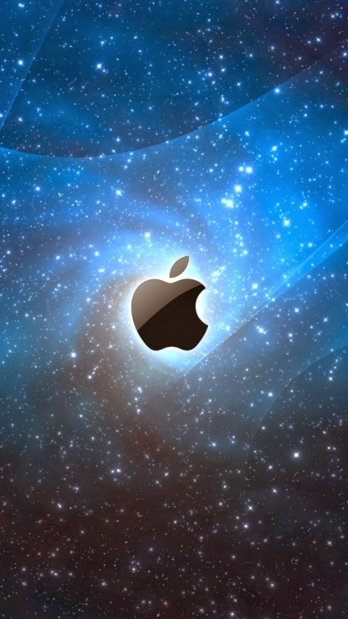Iphone 5 Hq Wallpapers Apple Logo Lost In Space Iphone 5 Hq Wallpaper