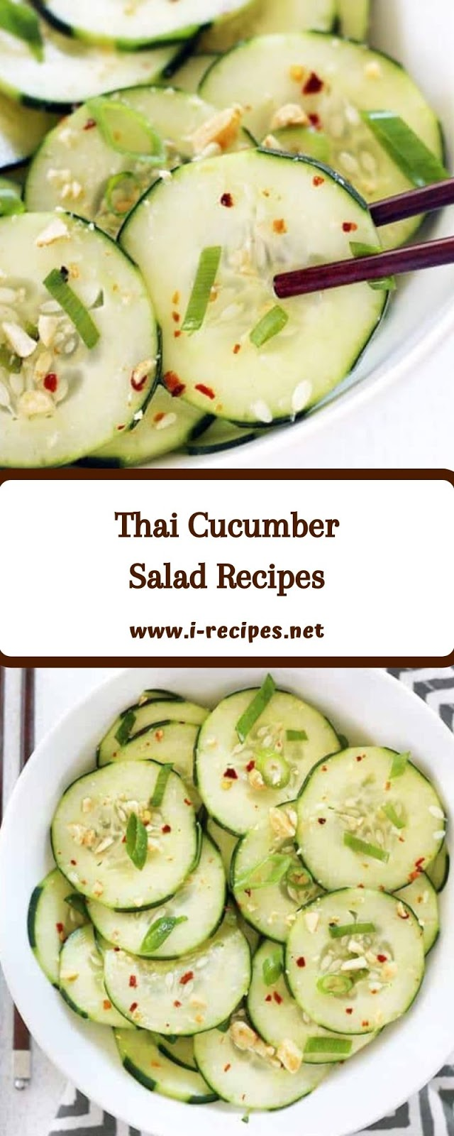 Thai Cucumber Salad Recipes