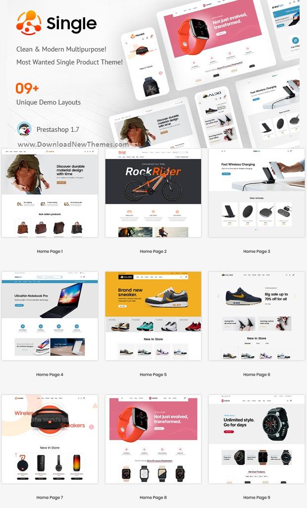 Single Product - Multipurpose Prestashop Theme