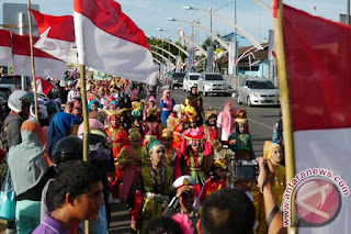 Karnaval Kemerdekaan Pesona Parahyangan di Bandung Jadi Puncak HUT Ke-72 RI
