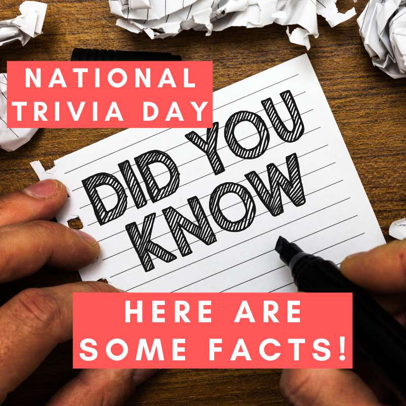 National Trivia Day Wishes Sweet Images