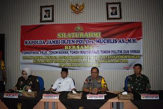 Danrem 042/Gapu Ajak Menjaga NKRIBMengajak Dalam Bingkai Kebhinekaan Seluruh Provinsi Jambi.