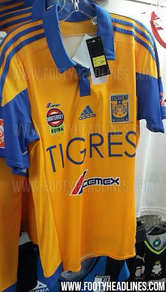 Tigres UANL 2015-16 Kits Revealed - Footy Headlines b1d0ba63a