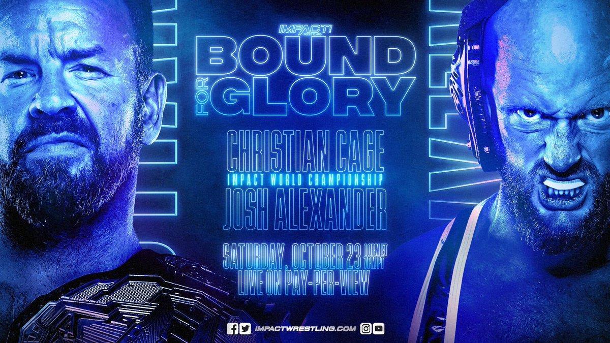 Christian Cage vs. Josh Alexander é confirmado para o IMPACT Bound For Glory 2021