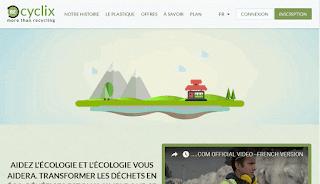 شرح الموقع recyclix