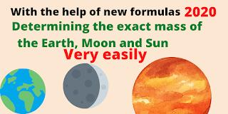 Mass Determine, modern law of gravitation