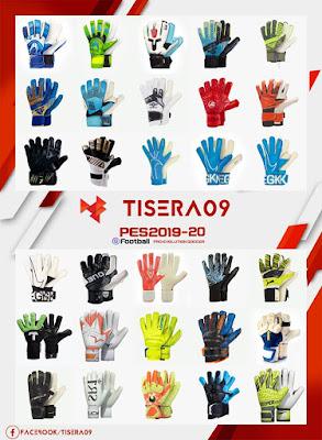 PES 2019 Glovepack v3 by Tisera09