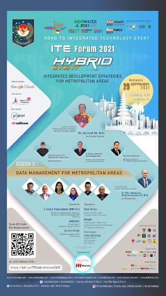 "Hybrid Event ""Integrated Development Strategies For Metropolitan Areas"" 29 September 2021"