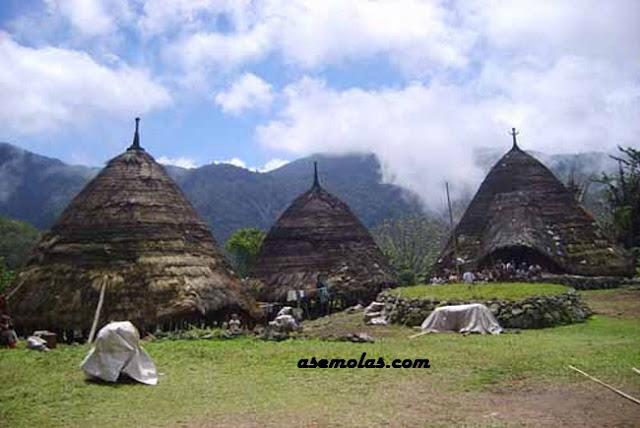 Wisata Flores Dan Rumah Adat Tradisional Daerah Todo, Flores