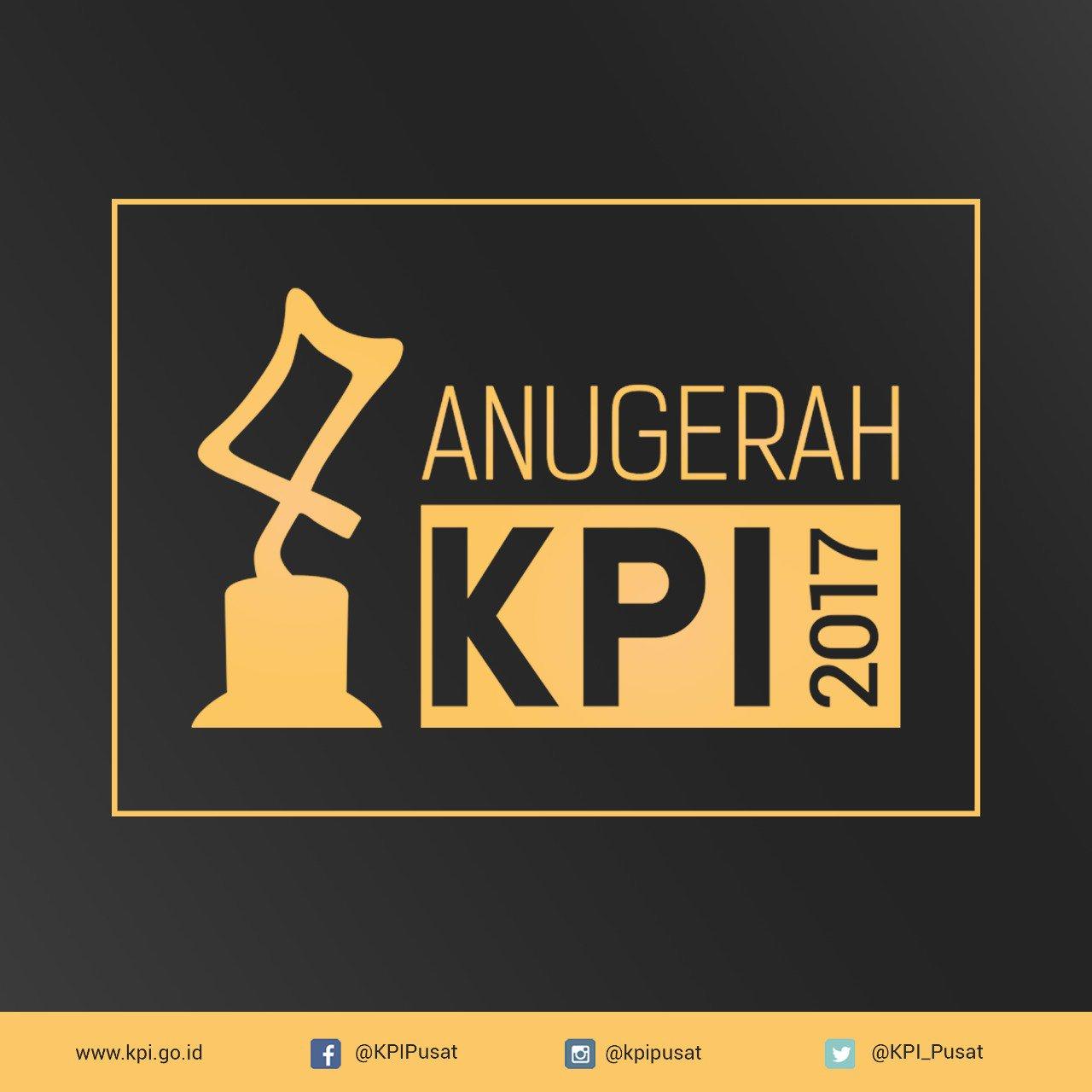 Anugerah KPI 2017 [image by @KPI_Pusat]