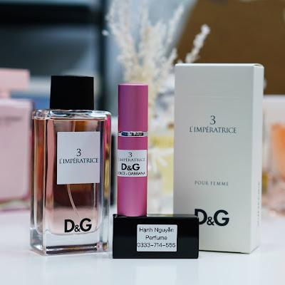 Nước hoa chiết D&G 3 L'Imperatrice 10ml