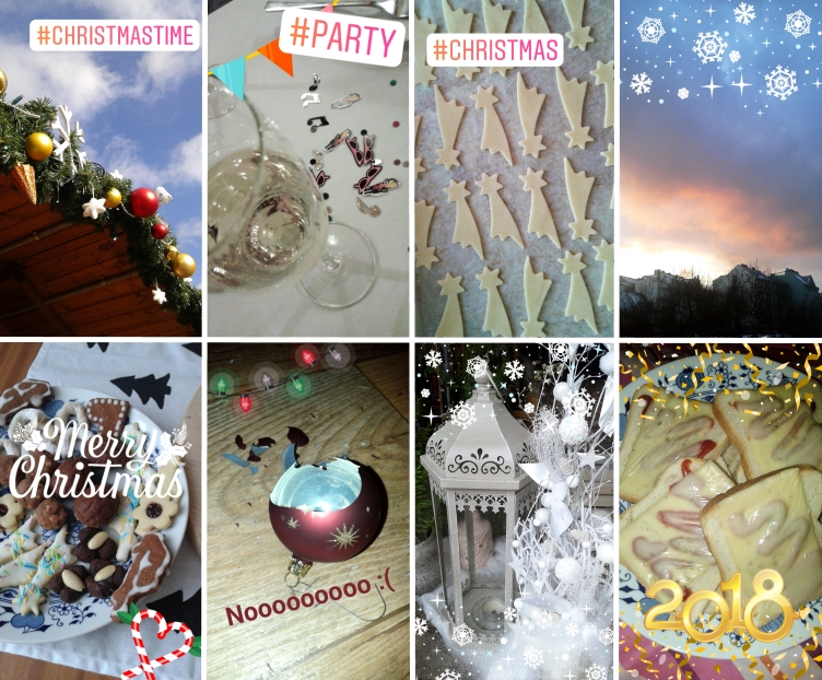 georgiana quaint, christmas, new year eve, winter, instagram stories, 2018 monthly planner