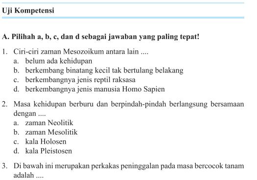 Jawaban Pg Uji Kompetensi Bab 4 Halaman 282 Ips Kelas 7 Masyarakat Indonesia Pada Masa Praaksara Bastechinfo