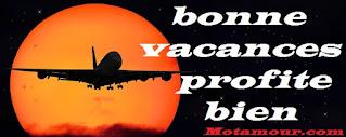 Messages bonne vacances profite bien