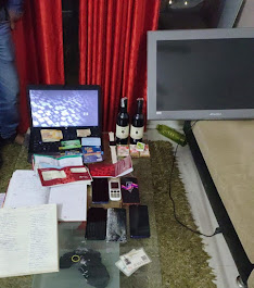 Indore News- आईपीएल मैचों पर अवैध रूप से सट्टे का कारोबार करने वाले 5 आरोपी क्राईम ब्रांच इंदौर की गिरफ्त में