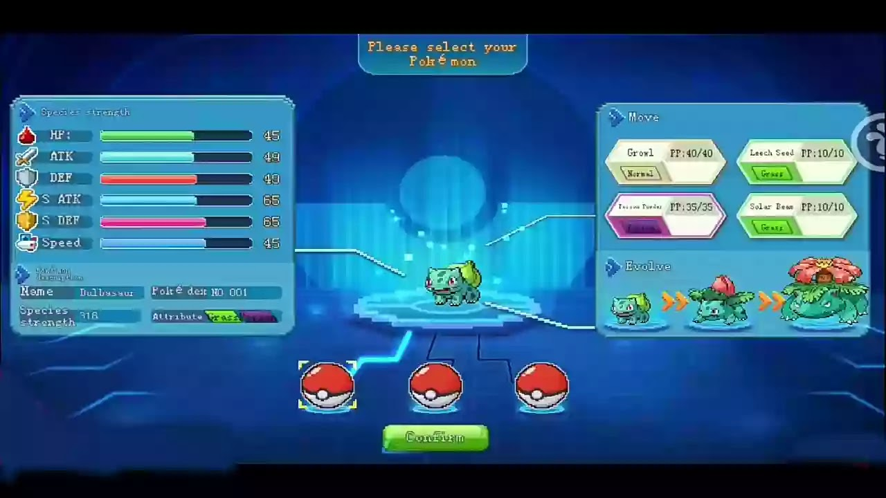 Pokemon new game