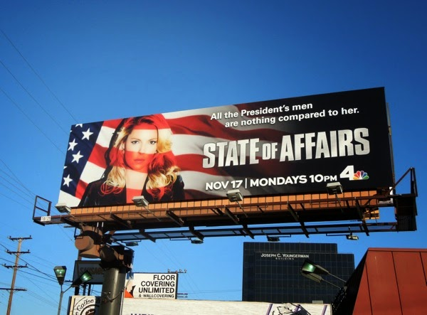 State of Affairs series premiere billboard