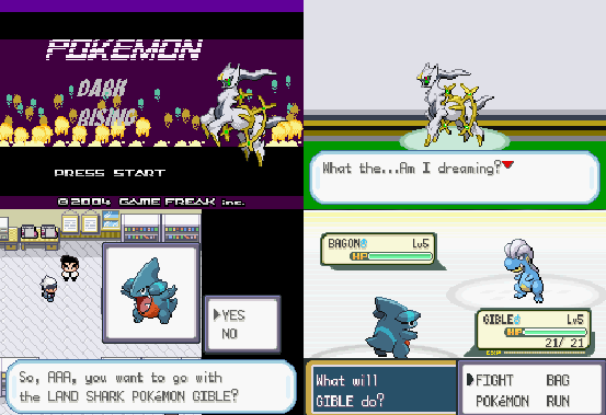 Pokemon Dark Rising GBA ROM Download