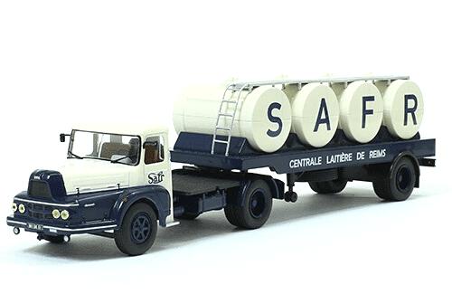 coleccion camiones articulados, camiones articulados 1:43, UNIC ZU 102 T camiones articulados
