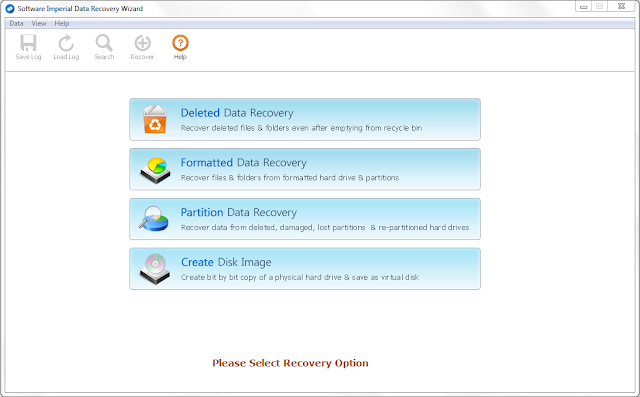 Screenshot Software Imperial Data Recovery Wizard 4.0 Full Version