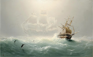 Cuadro The Flying Dutchman por Charles Temple - 1860