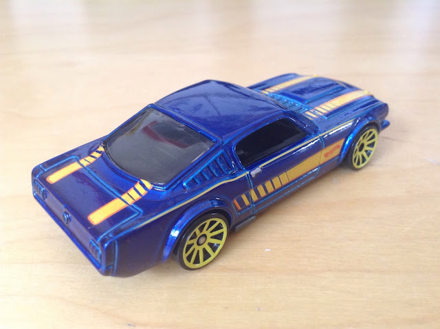 JULIAN'S HOT WHEELS BLOG: '65 Mustang 2+2 Fastback (2015 ...