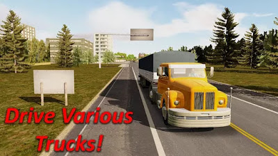 Heavy Truck Simulator النسخة المهكرة