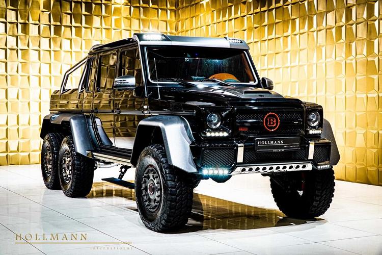 'Quái vật' Mercedes-AMG G63 6x6 độ Brabus chào bán hơn 20 tỷ đồng