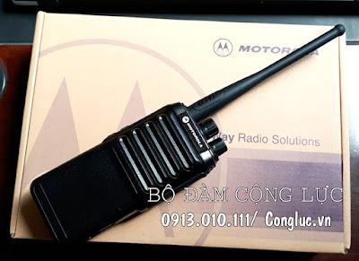 hộp sản phẩm máy bộ đàm motorola gp820 chính hãng
