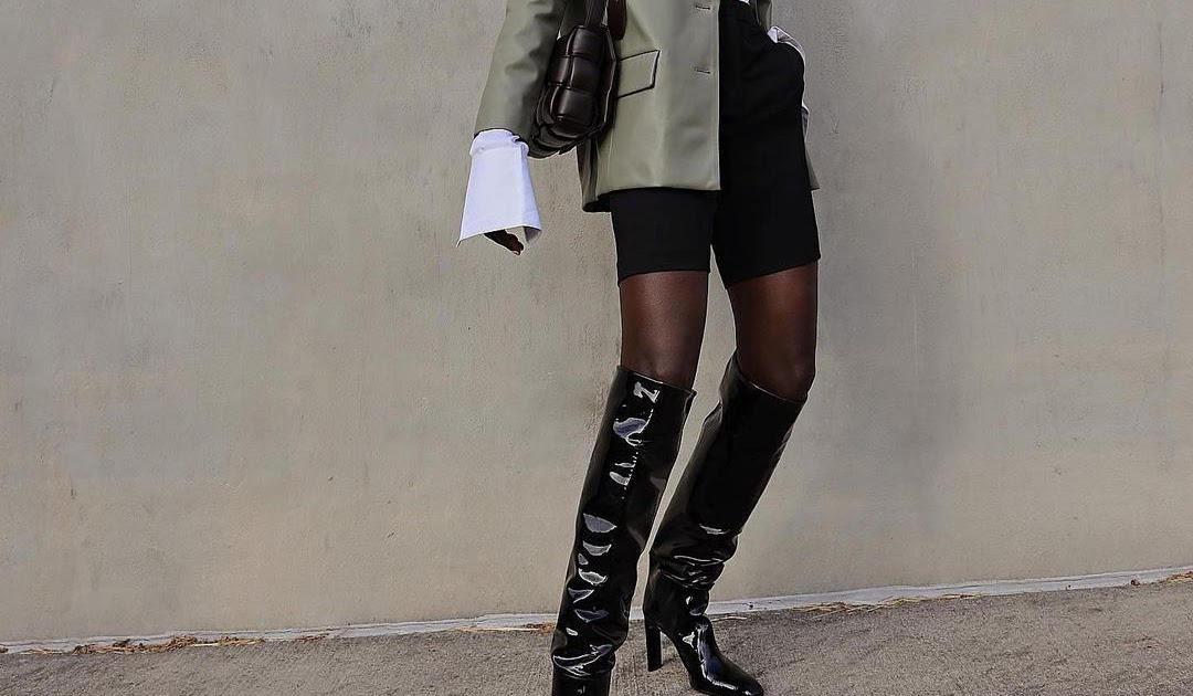 I Love This Chic Way to Wear Shorts in the Winter