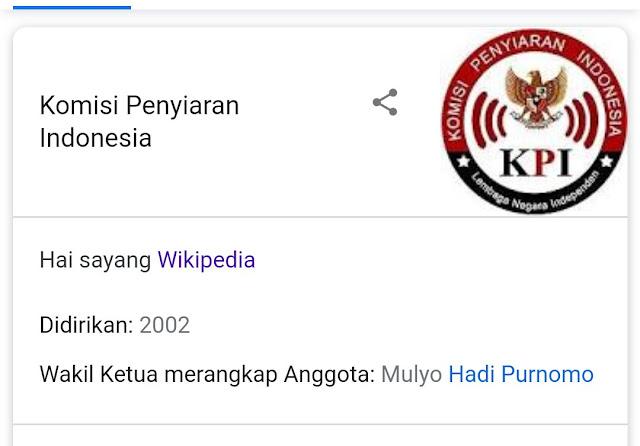 penyerangan vandalisme kpai di wikipedia