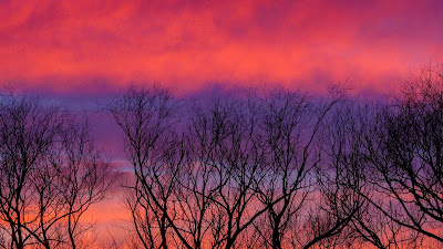 Wallpaper HD, Sky, Clouds, Dusk, Pink Sky