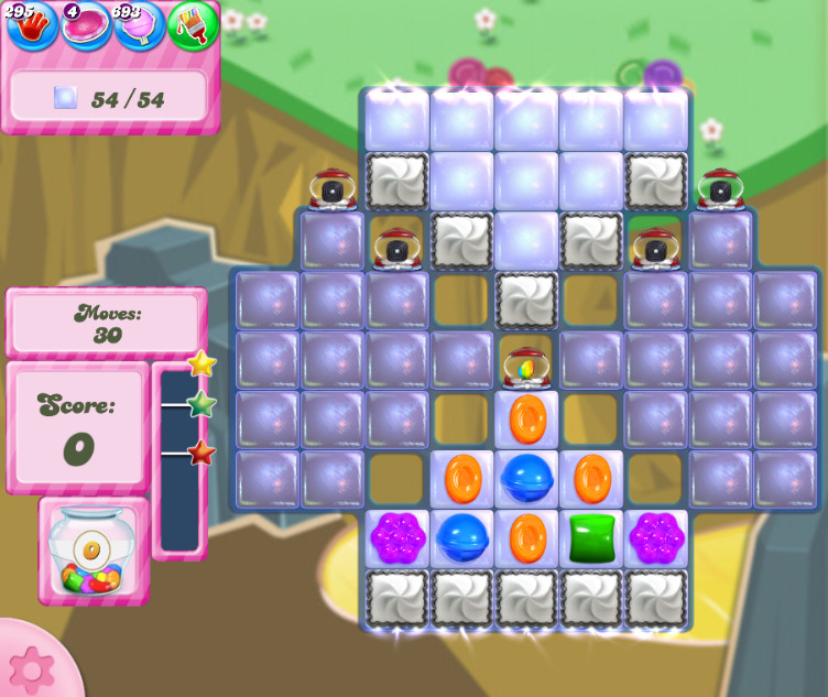 Candy Crush Saga level 2841
