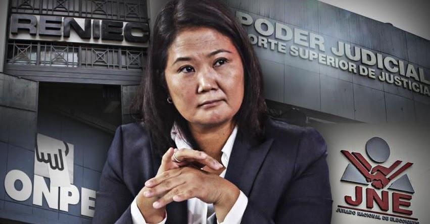 PREPARA TODO SU ARSENAL: Keiko Fujimori interpone habeas data como estrategia para fortalecer la narrativa del fraude y llegar al poder