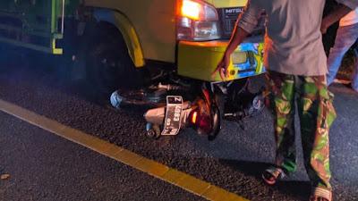 Tabrak Pemotor Hingga Berdarah-darah, Sopir Truk di Bone Kabur Tinggalkan Kendaraannya