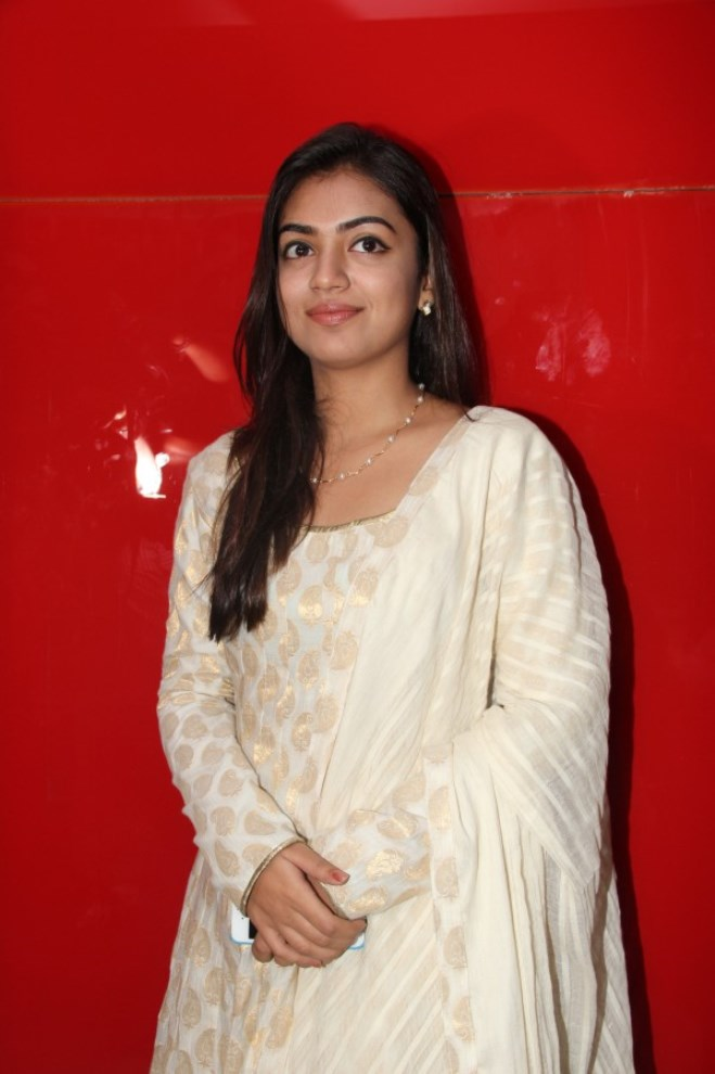 Nazriya Nazim Latest Smiling Face Close Up Photos