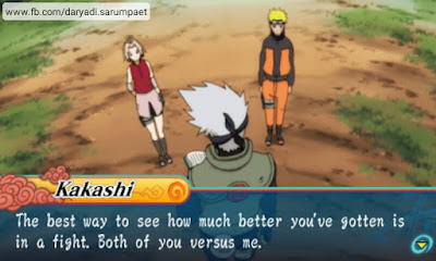 Naruto Shippuden Ultimate Ninja Heroes 3 PSP Game Review on Android