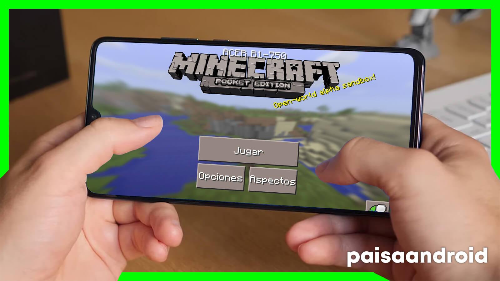 minecraft para dispositivos móviles