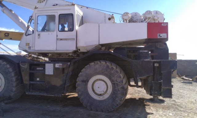 RAFIQ BROTHERS : TADANO 45 TON Rough Terrian Crane for Sale