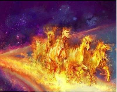 Golden War Horses by Deborah Waldron Fry