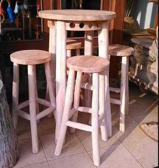 kursi cafe kaki tinggi