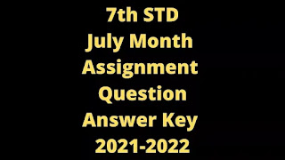 7th July Month Assignment Question, Answers
