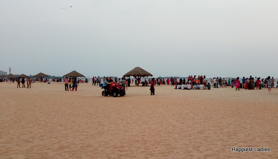 entertainment sports at malpe beach