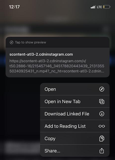 Download Linked File - Safari browser