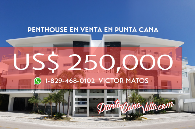 Penthouse en Venta en Punta Cana Village