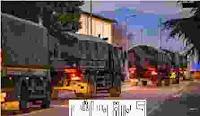 فيديو لشاحنات ايطالية تنقل العديد من ضحايا كرونا لحرقهم