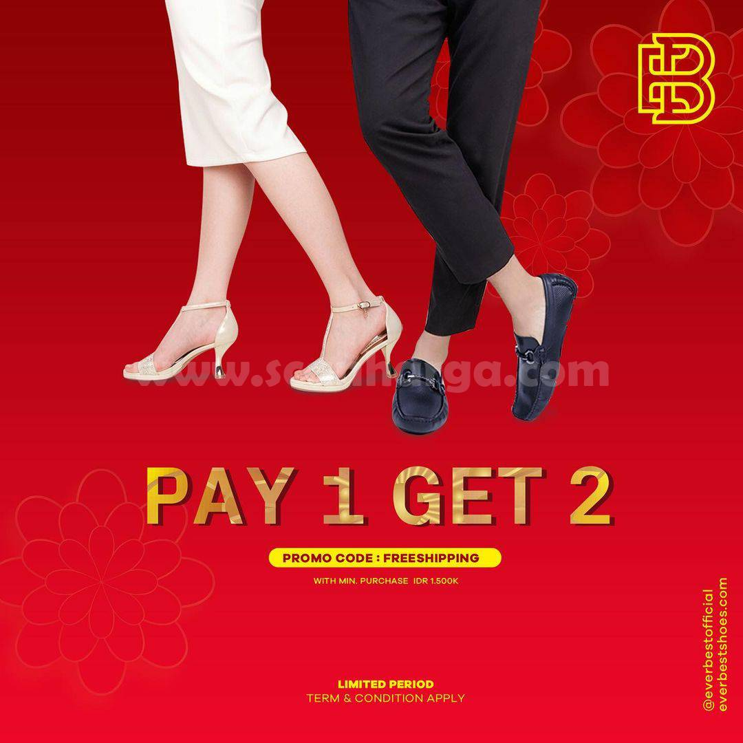 EVERBEST Promo BIG SALE PAY 1 GET 2