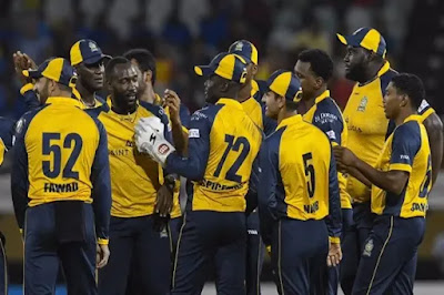 CPL 2019 BAR VS SLZ 26th match Cricket